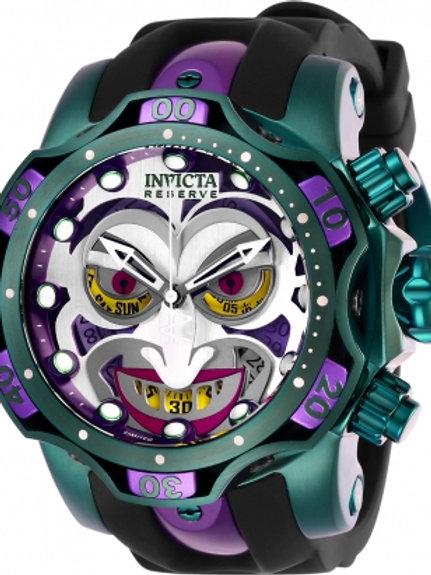 """Invicta"" Reserve Venom DC Comics Joker 1000m Chronograph 52mm Swiss Multicolor"