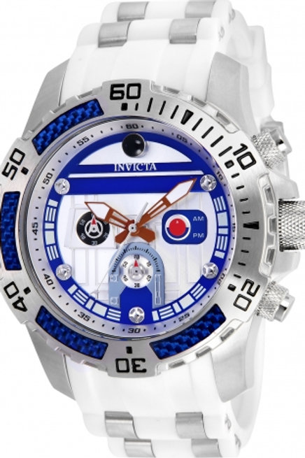 """""""Invicta"""" Star Wars R2-D2 Limited Edition 51mm Chronograph"""