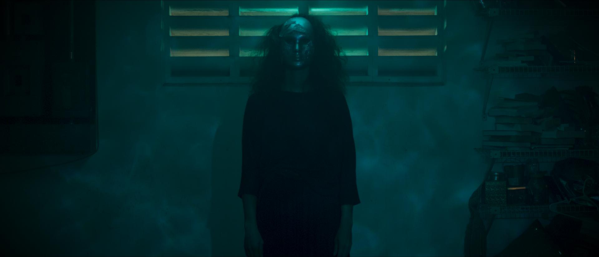 Masked Figure - Mask 1