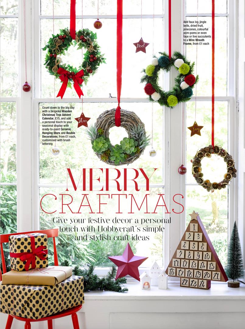 Good Housekeeping & Hobbycraft Christmas Promotion