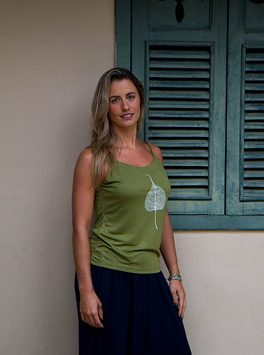 Blusa alcinha Folha NB003