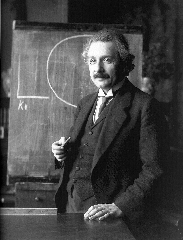 Einstein teaching