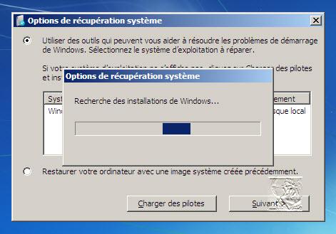 Problème windows 7