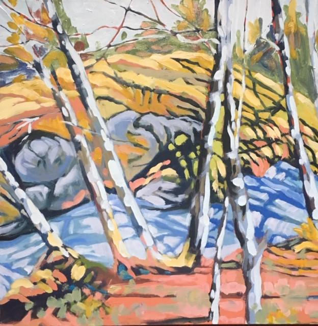 Oil on canvas, 24X24