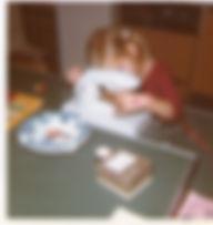 Caroline van Staveren 7 jaar, jong geleerd is oud gedaan