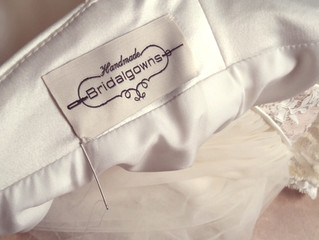 """5 Redenen voor een """"Handmade bridalgown"""""""