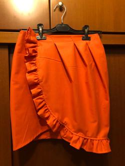 φούστα φάκελος με πιέτες