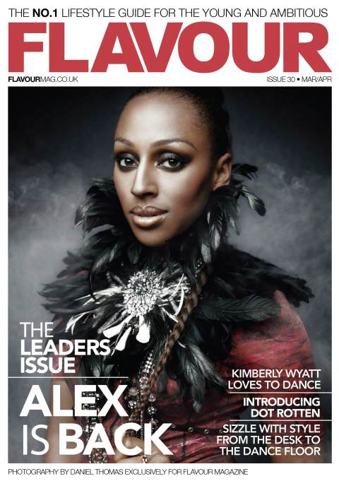 Alexandra Burke for Flavour, UK
