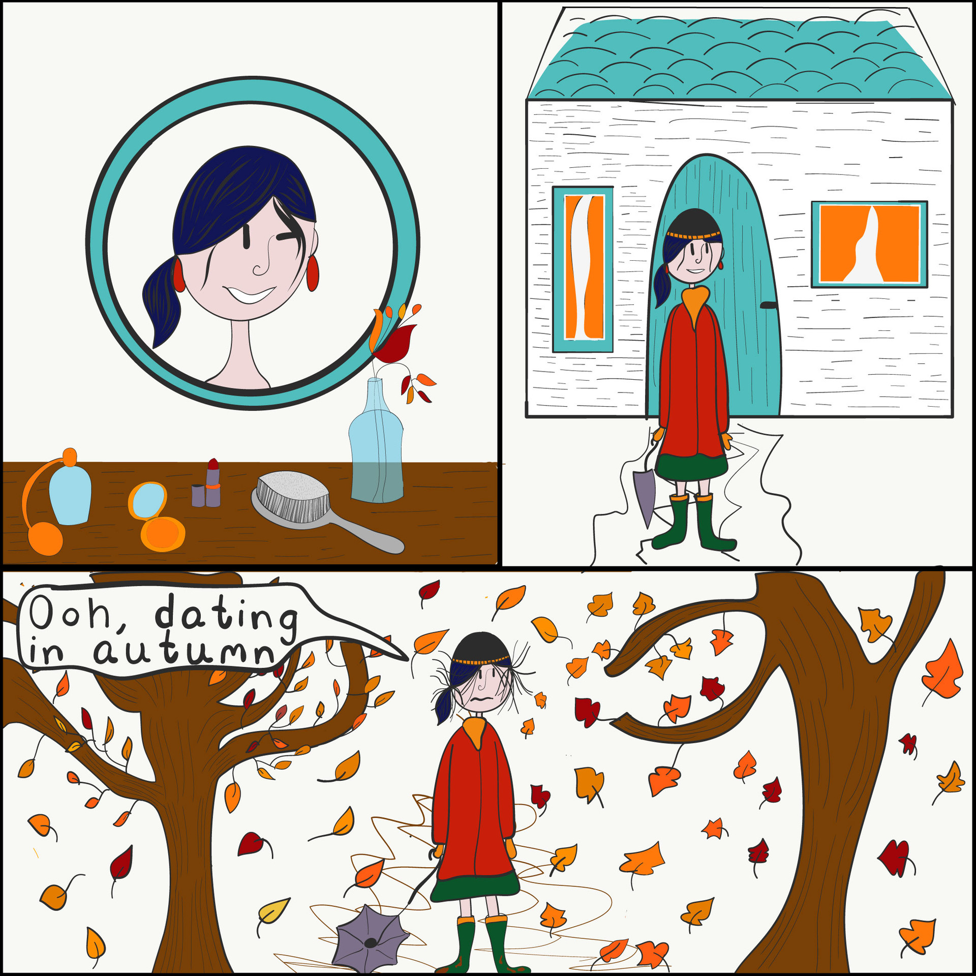 Ooh, dating in autumn