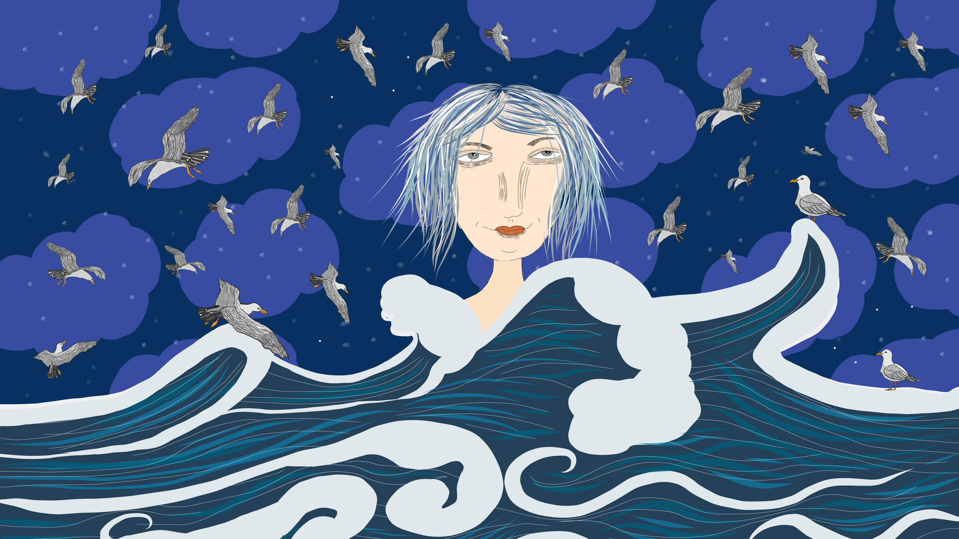 woman of the sea