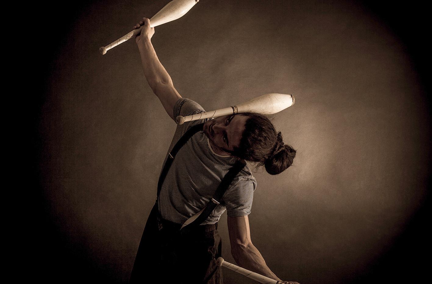 "Norbert ""Diabolux"" (Le cabaret diatonique) © sarah Maitrot"