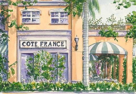 Cote France in Boca Raton  PRINT