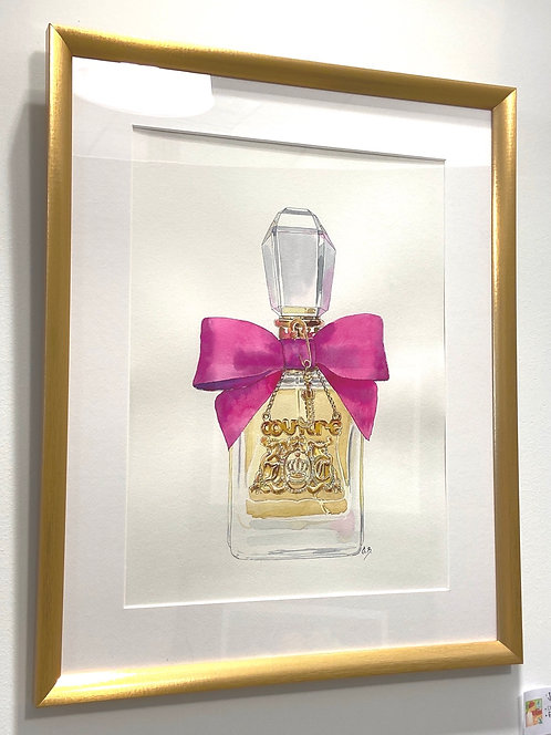 Juicy Couture Original Watercolor/Ink Painting