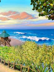 South Beach at Sunset, Boca Raton, Florida