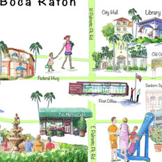 Downtown Boca Raton Map