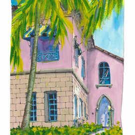 Downtown Boca Raton Art Print