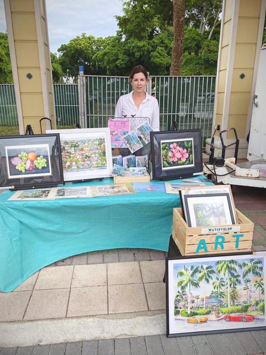 Jazz and Art Event,  MPAmp, Boca Raton, Florida