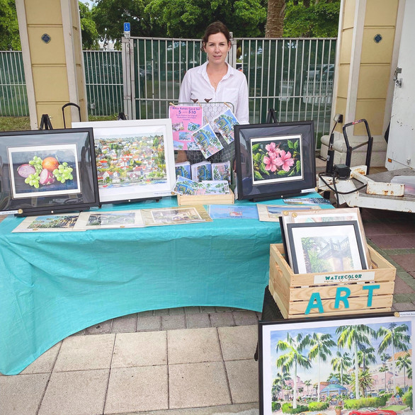 Jazz and Art Event at MPAmp, Boca Raton, Florida