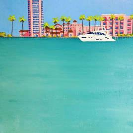 Boca Lake Acrylic