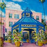 Mizner Park Gazebo on Boca Raton, Florida