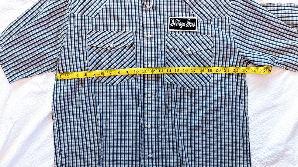 Dewayn Patch Snap Shirt