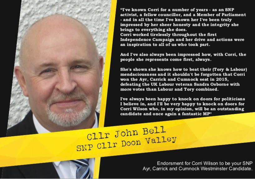 Cllr John Bell