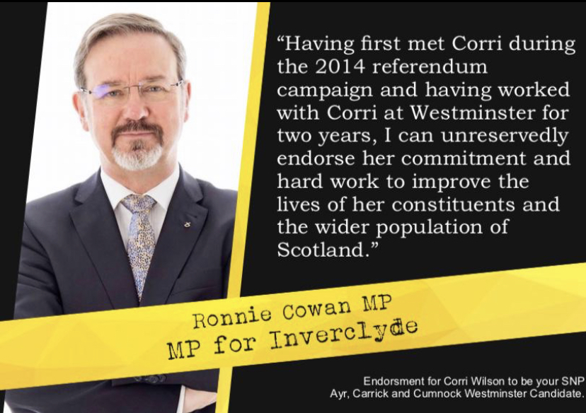 Ronnie Cowan MP