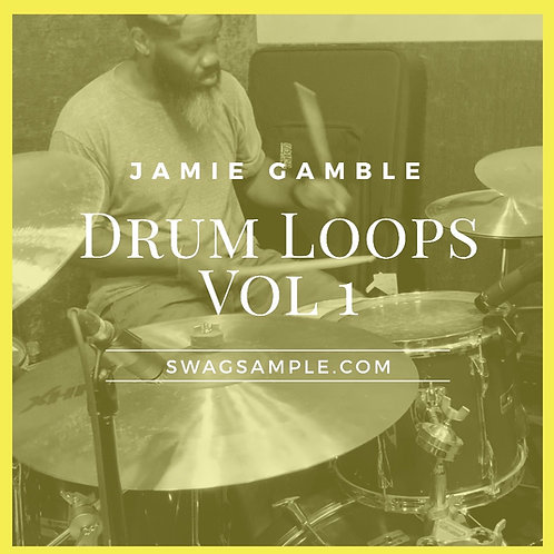 Jamie Gamble Drum Loops Vol.1
