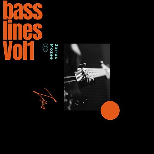 JMo Bass Lines Vol 1