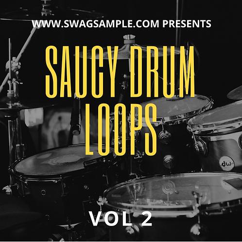 Saucy Drum Loops Vol 2