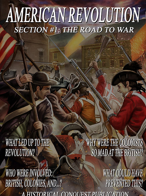 DIGITAL/PHYSICAL - American Revolutionary Game and Curriculum