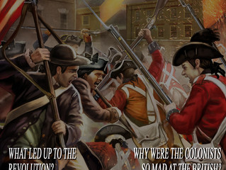 The American Revolution  Curriculum is now Available