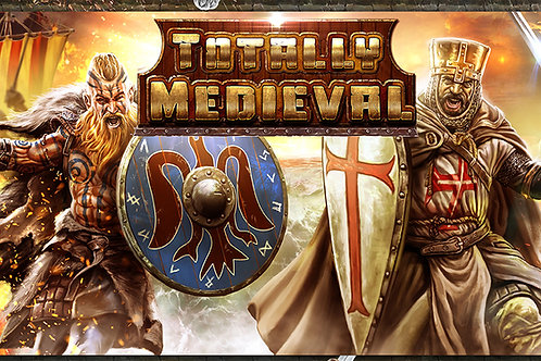 Totally Medieval: The Enhanced Math Adventure (Cards and 32 Figurines)