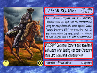 Caesar Rodney and his Midnight Ride to Save a Young Nation