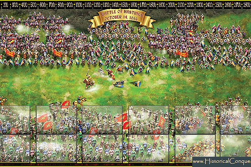 Play Mat - Battle of Hastings (Aerial View-Battle)