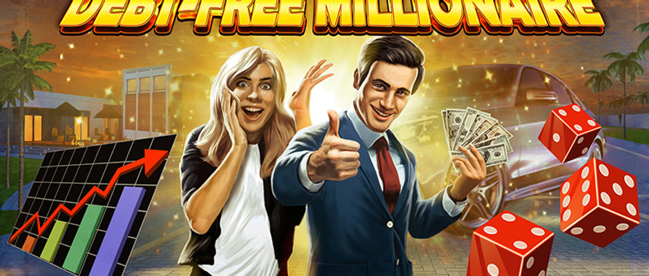Debt-Free Millionaire Game Prototype w/ Final Game & Financial Course-$250 value