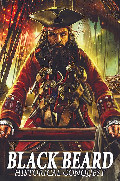 Black Beard Poster 13x19
