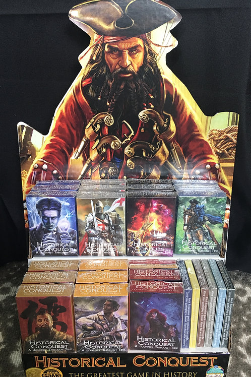 RETAILER PACKAGE #3: 60 Starter, 90 Expansion, 14 Mats, 2 POS, 4 Hosted Tourn