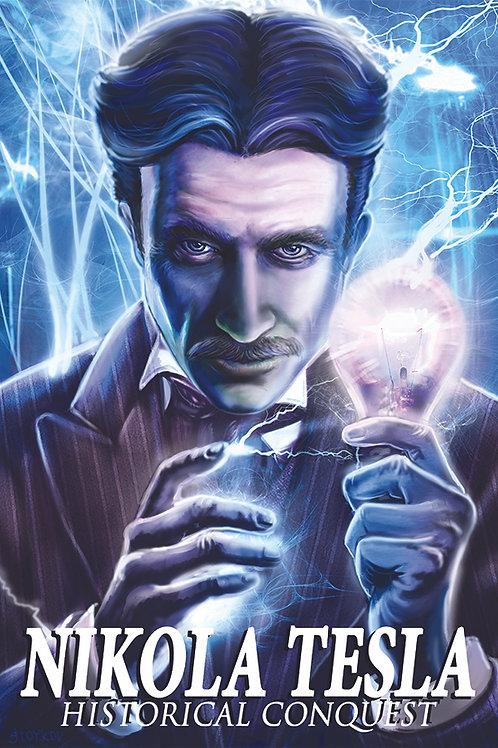 REP PRICING: Nikola Tesla Poster 13x19