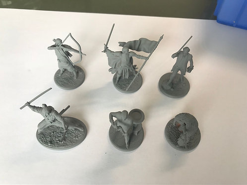 Rep Pricing - Historical Conquest Figurines - Box of all 6