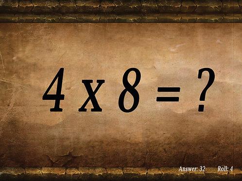Multiplication Math Dice
