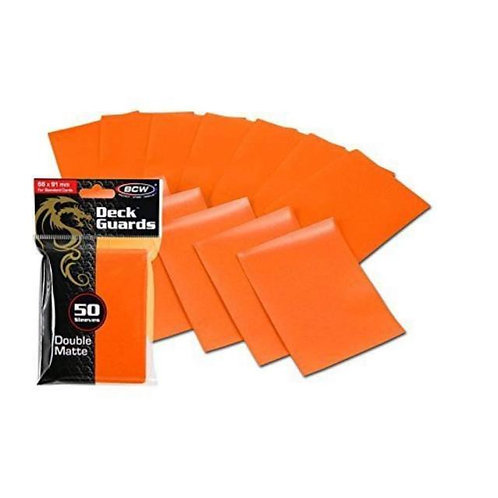 Specialty Sleeves to Protect and Sort Cards - Orange Sleeves
