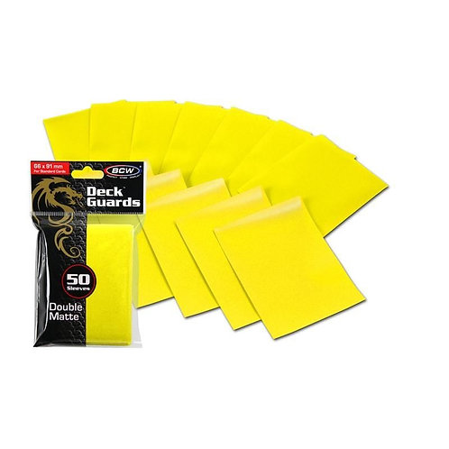 Specialty Sleeves to Protect and Sort Cards - Yellow Sleeves