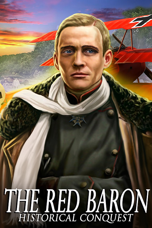 Red Baron Poster 13x19