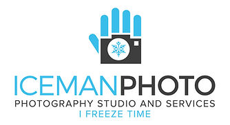 Iceman Photo Logo