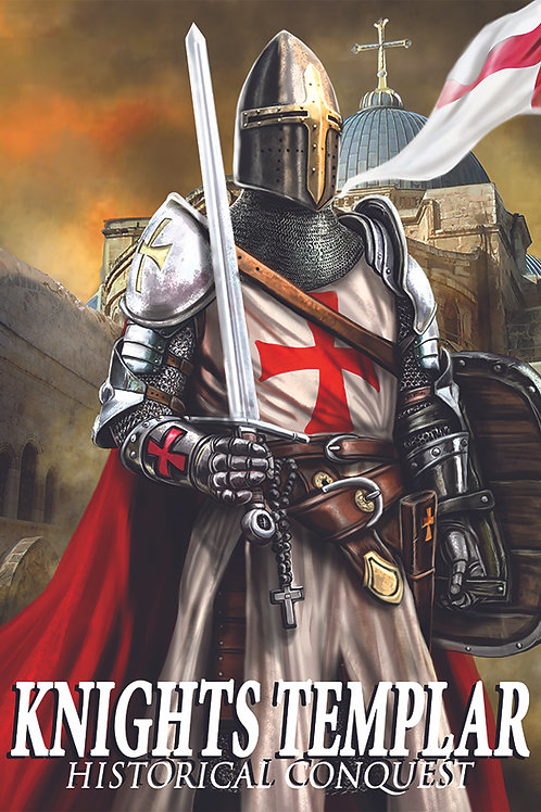Knights Templar Poster 13x19