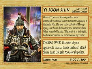 The Awesome Admiral: Yi Soon Shin: 1545-1598