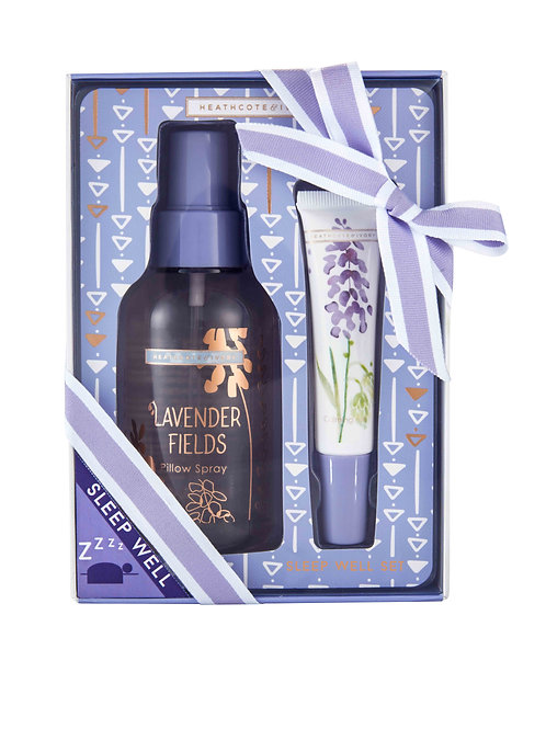 Lavender Fields Sleep Well Gift Set