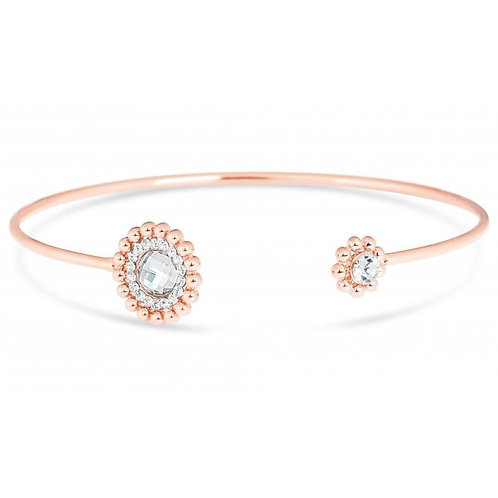 Rose Gold Plated Bracelet With crystal Stones