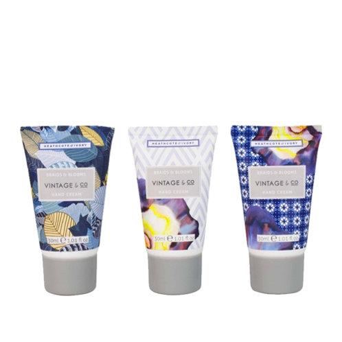 Vintage & Co. Braids & Blooms Mini Hand Cream Set